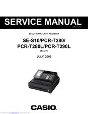 Casio PCR-T290L Manuals