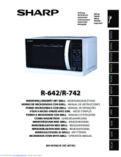 sharp r 642 manuals rh manualslib com sharp microwave manual model#r-410ak sharp microwave manuals downloads