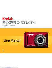 Kodak PIXPRO FZ53 Manuals