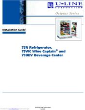 u line wine captain 75wc manuals rh manualslib com u line wine fridge manual u-line refrigerator owners manual