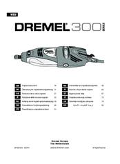 dremel 300 series manuals rh manualslib com Dremel 4000 Rotary Tool Dremel Parts