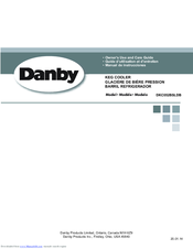 danby dkc052bsldb owner's use and care manual