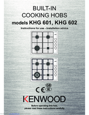 Kenwood KHG 602 Instructions For Use Manual