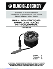 Black & Decker BBC2CB Instruction Manual