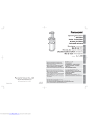 Panasonic MJ-L500 Operating Instructions Manual