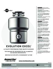 InSinkErator Evolution Excel User Manual