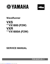 YAMAHA WAVERUNNER VXS VX1800 SERVICE MANUAL Pdf Download