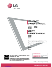 lg 47lh90 owner s manual pdf download rh manualslib com LG Instruction Manual LG Touch Phone Operating Manual