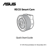 Asus RECO Smart Cam Quick Start Manual