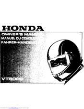 Honda Vt600c Owners Manual Pdf Download