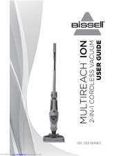 Bissell BOLT ION 1312 SERIES User Manual