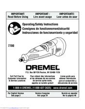 dremel 7700 manuals rh manualslib com Dremel Miter Box Quick Start Guide