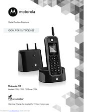 Motorola O201 User Manual