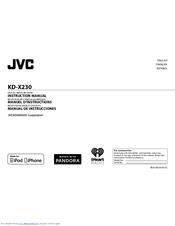 Jvc Kd X230 Instruction Manual Pdf Download Manualslib