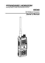 standard horizon hx380 manuals rh manualslib com Standard Horizon Submersible HX370S Waterproof Radio Construction