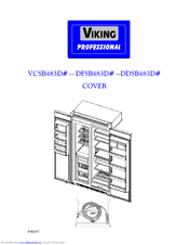 viking dfsb483d manuals