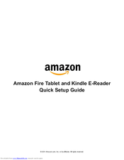Amazon Fire HD 10 Manuals