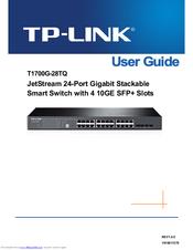 Tp-link T1700G-28TQ Manuals
