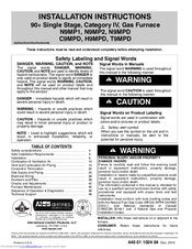 international comfort products n9mp2 manuals rh manualslib com International Comfort Products Parts International Comfort Products Fem4p