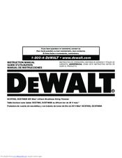 dewalt dcst990 manuals rh manualslib com dewalt dw745 owners manual dewalt owners manual dw718