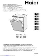 Haier DW12-TFE2 series Manuals