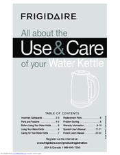Frigidaire FPKT58D7NS Use & Care Manual