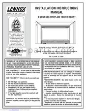 Lennox Hearth Products Ebvi30 Manuals