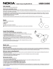 Nokia Treasure Tag Mini WS-10 User Manual