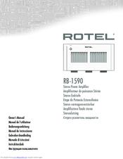rotel rb 1590 manuals rh manualslib com