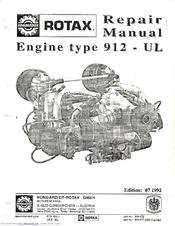 ROTAX 912-UL REPAIR MANUAL Pdf Download