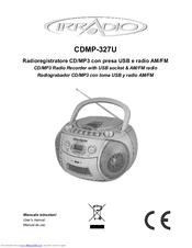 Irradio CDMP-327U User Manual Download