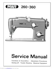 Pfaff Automatic 260 Service Manual