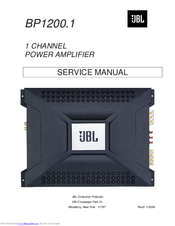 jbl bp1200 1 service manual pdf download rh manualslib com