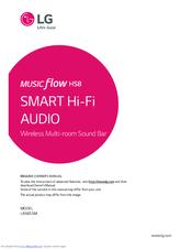 LG MUSICFLOW HS8 LAS855M OWNER'S MANUAL Pdf Download