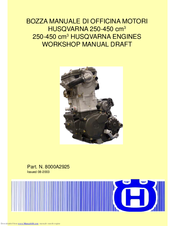 Husqvarna 450 Rancher Workshop Manual