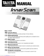 tanita innerscan bc 587 manuals rh manualslib com