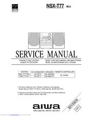 aiwa nsx t77 manuals rh manualslib com Aiwa Nsx T939 Aiwa Nsx T939