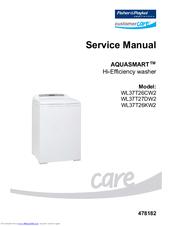 Fisher paykel gwl15 wa37t26gw phase 7 washer service manual.