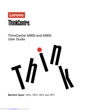 Lenovo ThinkCentre M800 User Manual