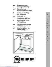 neff d4972x0gb manuals rh manualslib com neff double oven installation instructions Ovens and Hobs Neff