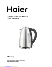 Haier HKT-2133 User Manual