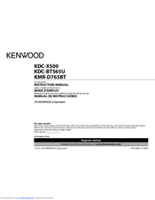 kenwood kdc bt565u manuals rh manualslib com Kenwood Head Unit Kenwood Car Stereo