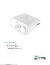 PHILIPS DREAMSTATION CPAP USER MANUAL Pdf Download