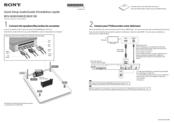 Sony BDV-E290 Quick Setup Manual