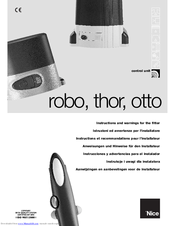Nice RO 1000 Manuals
