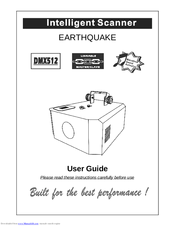 Stairville EarthQuake DMX512 Manuals