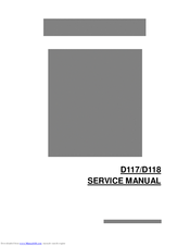 RICOH D117 SERVICE MANUAL Pdf Download
