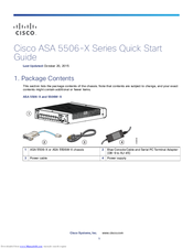 Cisco ASA 5506-X Quick Start Manual