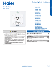 Haier AB18SC2VH2 User Manual