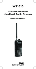 WHISTLER WS1010 OWNER'S MANUAL Pdf Download
